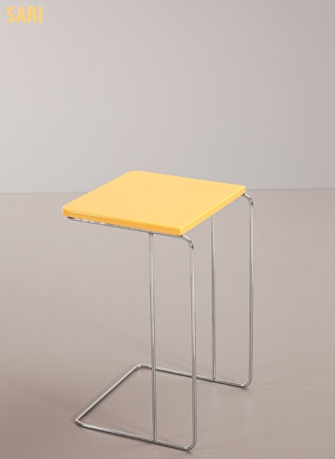 Sanal Mobilya Sehpa Sarı